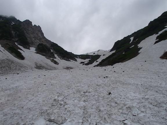 大雪渓上部.JPG